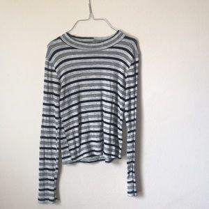 Long sleeve tight fitting shirt